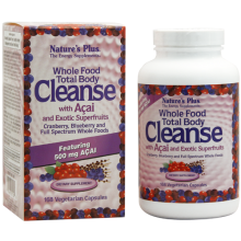 WHOLE FOOD TOTAL BODY CLEANSE WITH AÇAI AND EXOTIC SUPERFRUITS