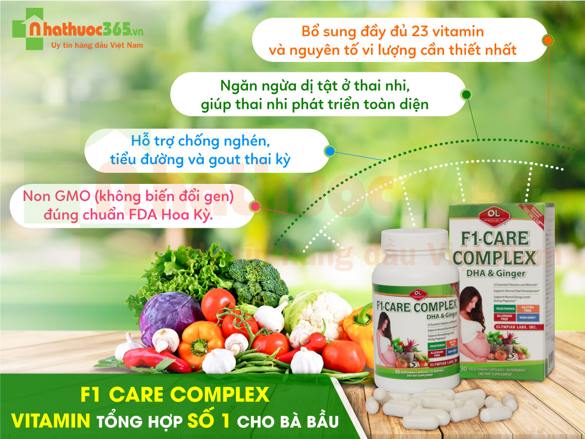 F1 care complex và green calcium