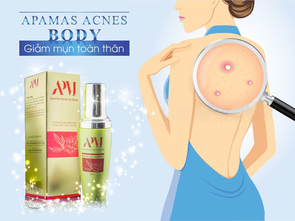 Apamas Acnes for Body