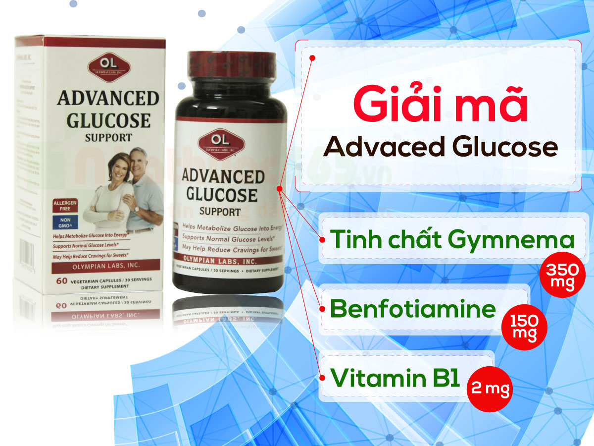 3 thanh phan advaced glucose