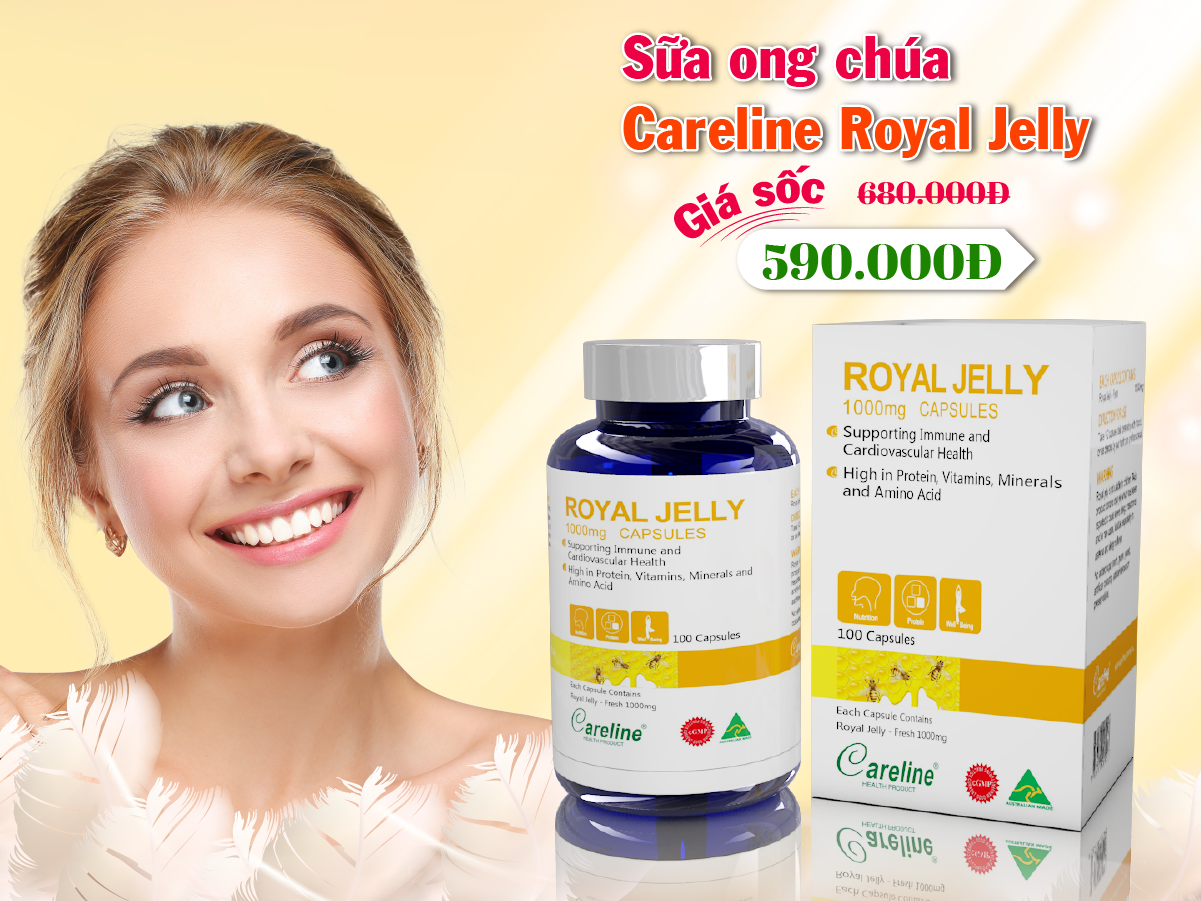 sua-ong-chua-Careline- Royal- Jelly