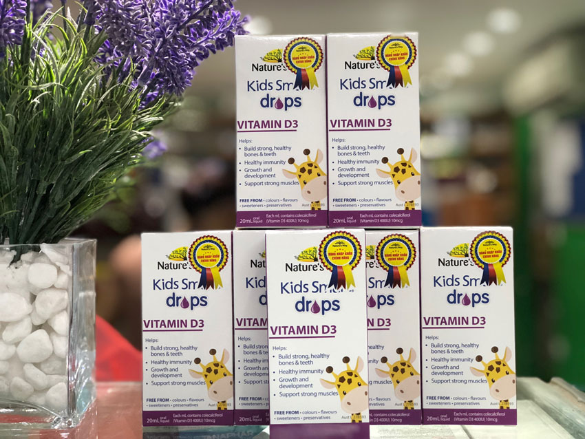 Kids Smart Drops Vitamin D3